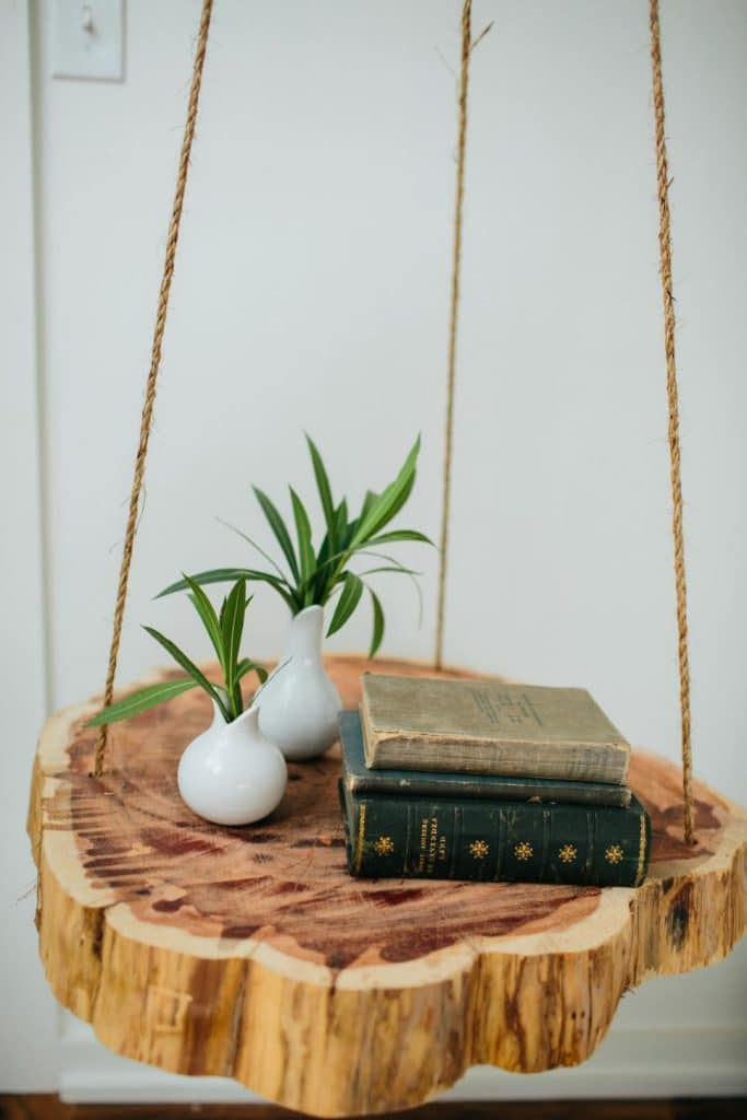hanging nightstand
