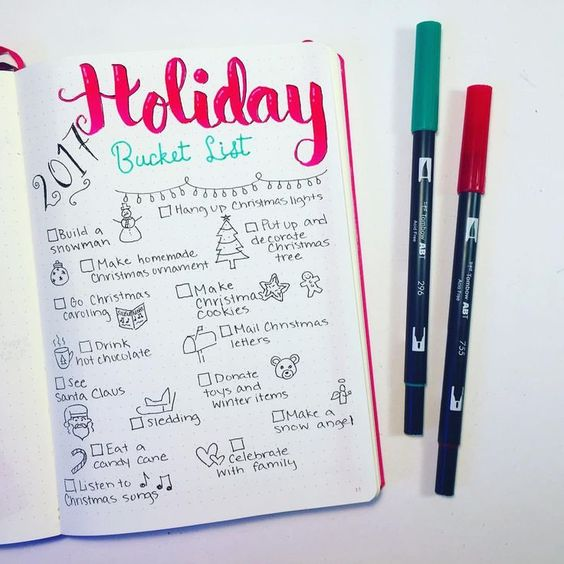 Holiday page