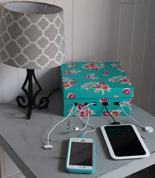 Turn a box into a charging station
