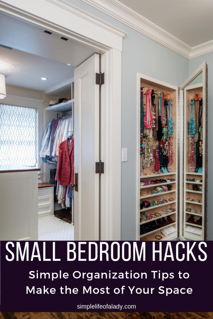 61 SIMPLY AMAZING Small Space HACKS for your TINY BEDROOM ...