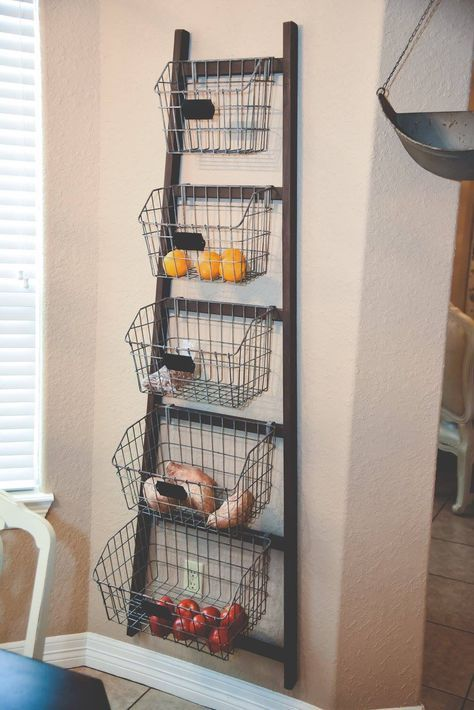 wire baskets for storage  - fresh produce container
