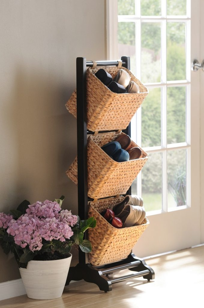 3-tier basket for shoes