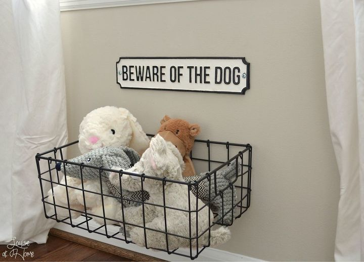 wire baskets for storage - toys organization