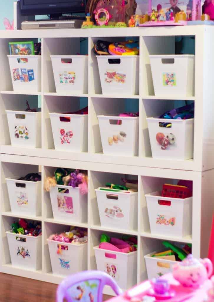 toy storage - inexpensive bins
