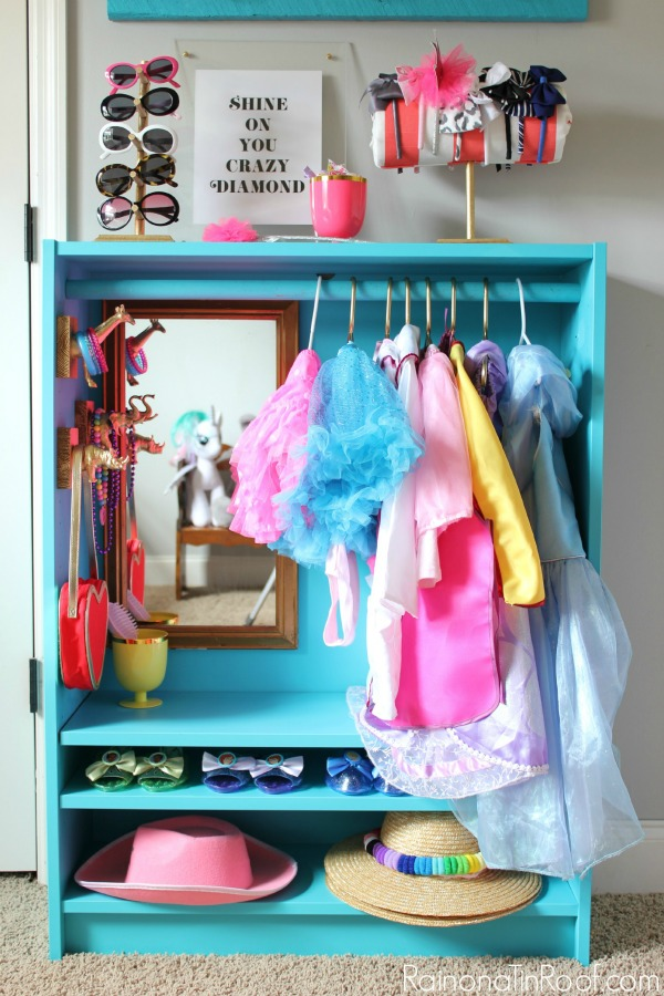 toy storage - dress up closet