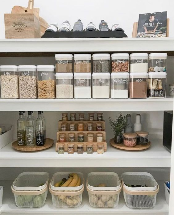 pantry organization ideas - organized pantry