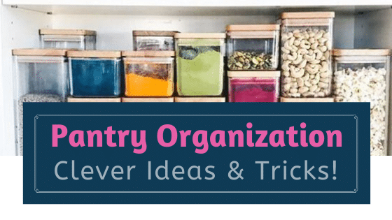 organize your home - pantry organization