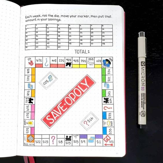 financial tracker - saveopoly