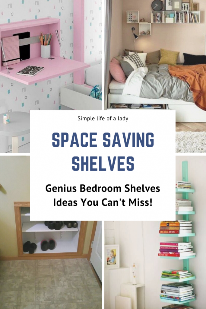 20 Awesome Bedroom Shelves For Saving Space Simple Life Of A Lady