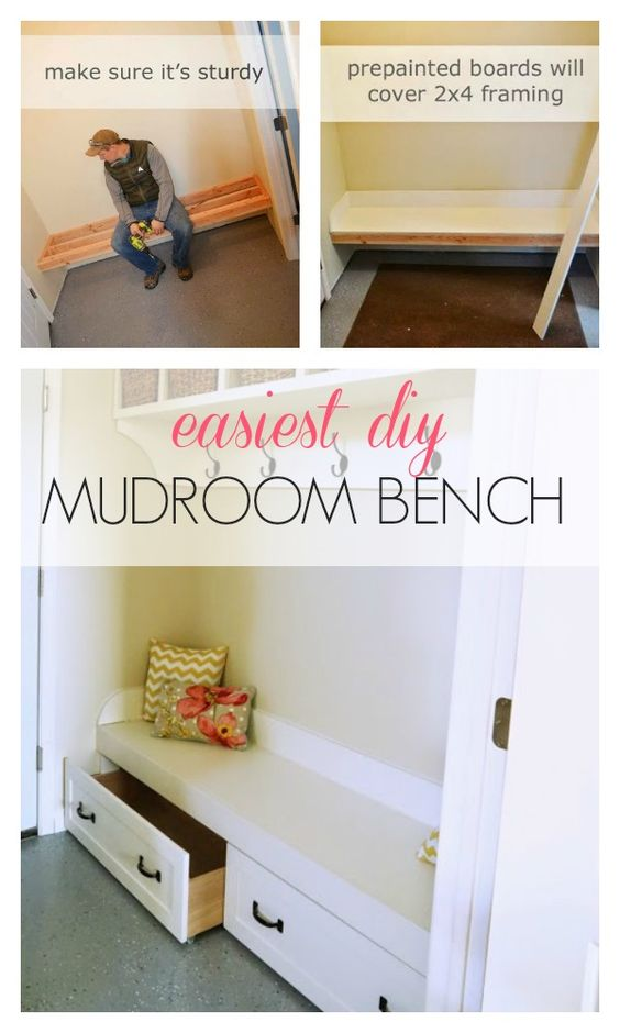 bench for mudroom