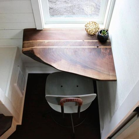 floating corner desk