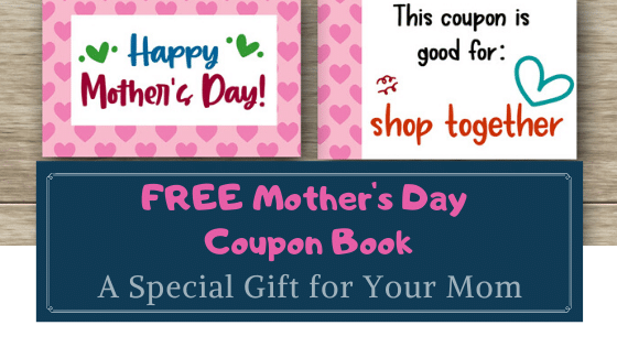 Free Printable Mother S Day Coupon Book Simple Life Of A Lady