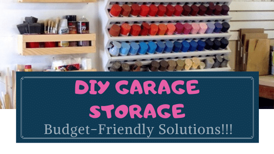 DIY storage ideas for the garage