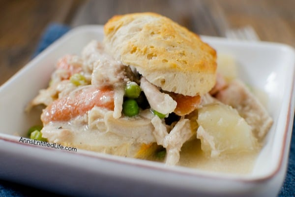 crock pot dinners - chicken pot pie