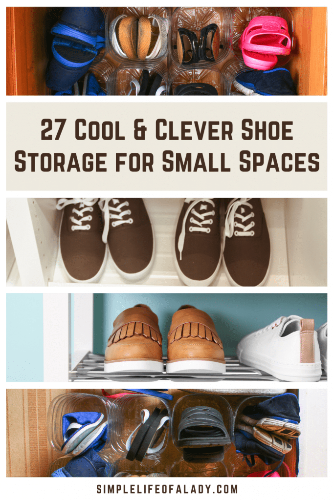 Helpful ideas for organizing shoes