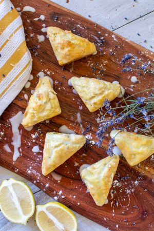 Lemon Lavender Scones