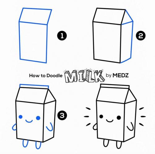 milk doodle