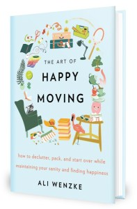 Books on Declutter - The Art of Happy Moving