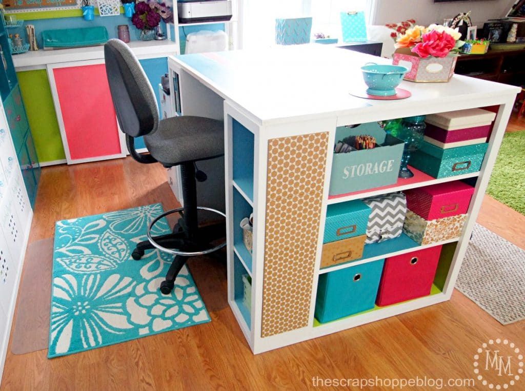 use an affordable craft table.