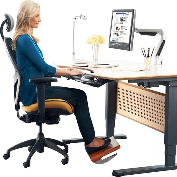 how to set up a home office - get an ergonomic chair