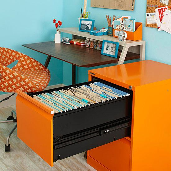 filing cabinet for inactive files
