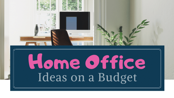 home office on a budget ideas