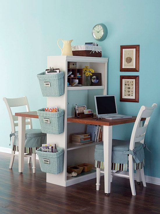 Consider whether others in your household also need a home office.