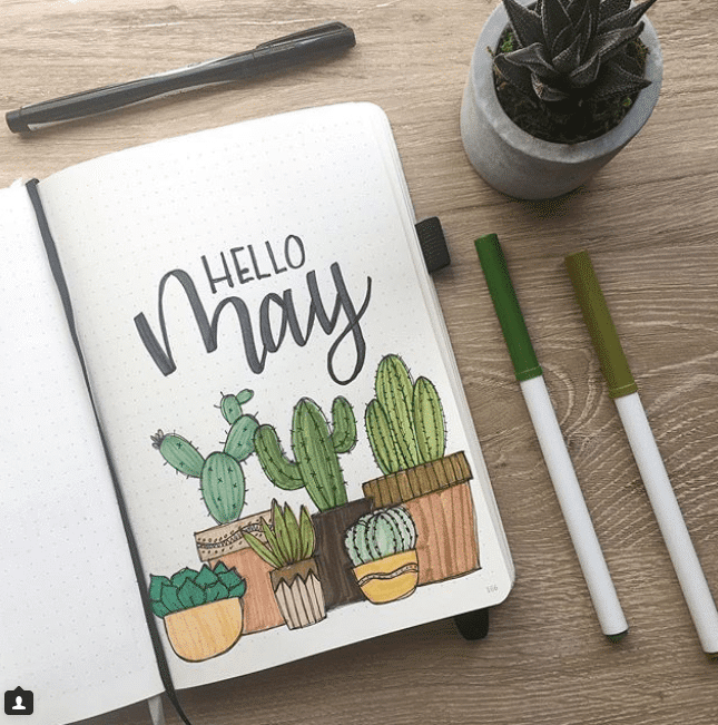 cactus monthly cover page