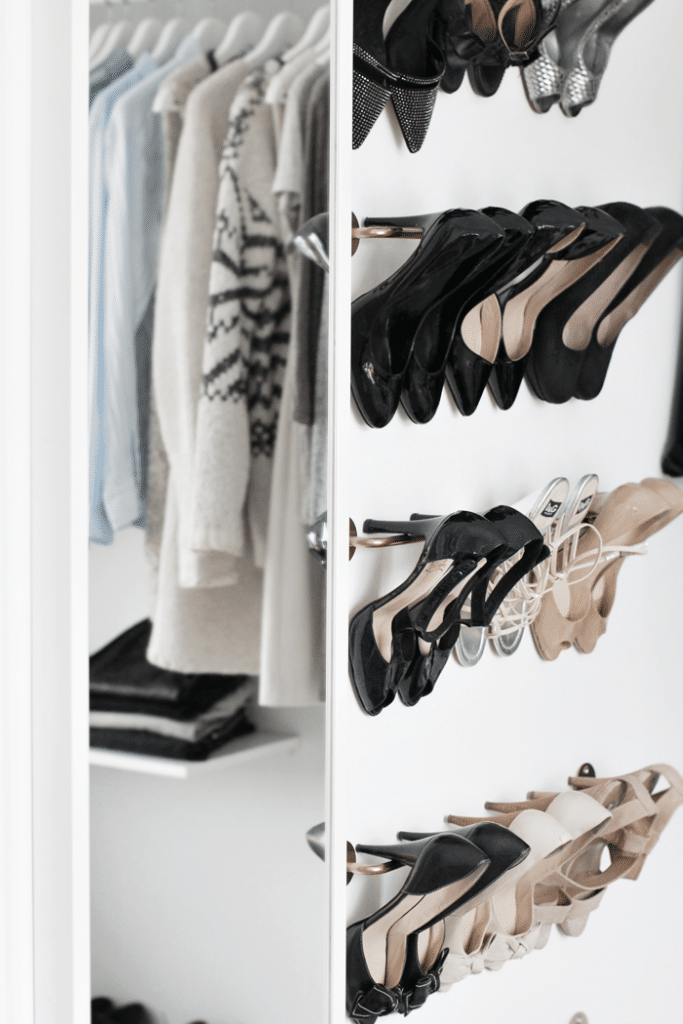 shoe storage IKEA - BYGEL rack