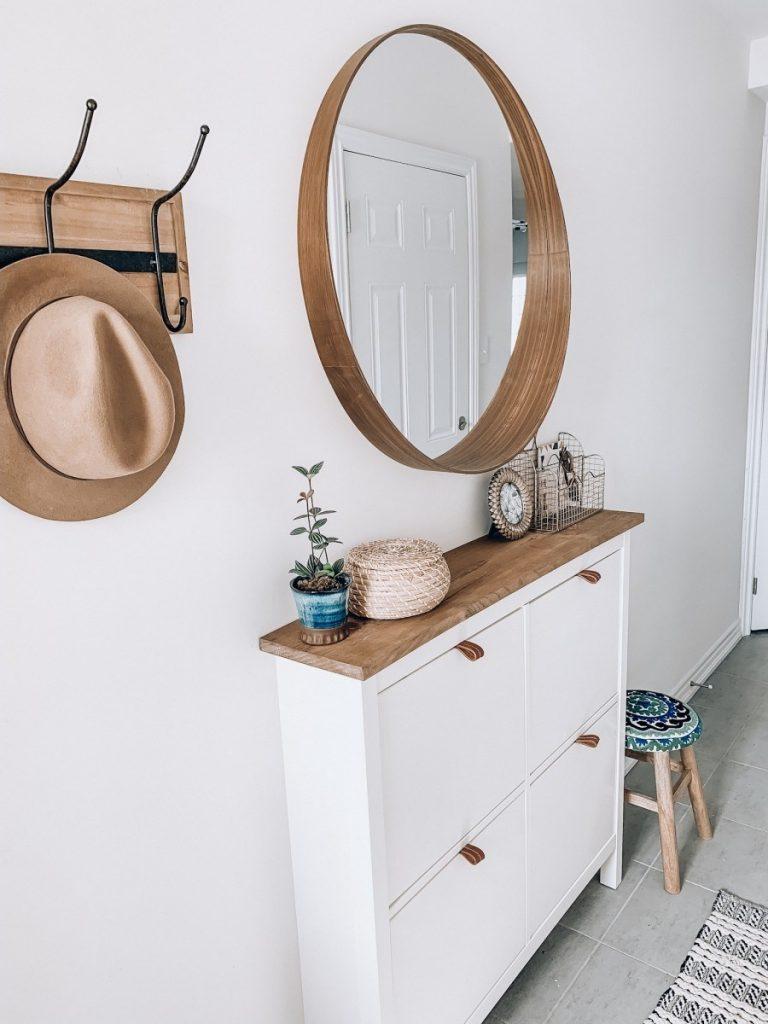 shoe storage IKEA - HEMNES cabinet