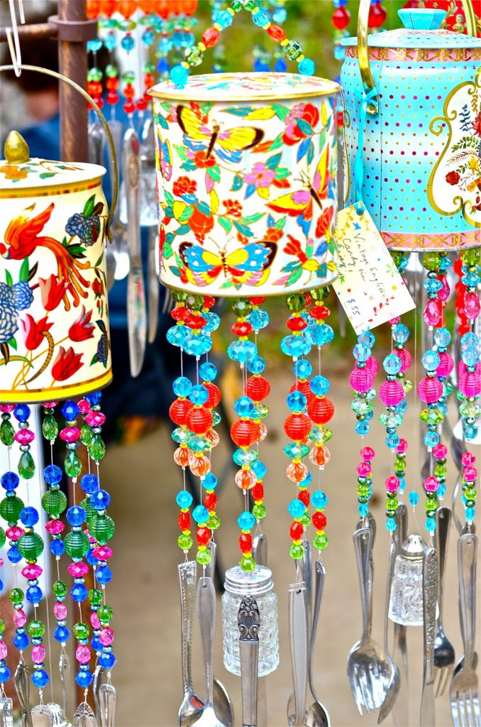 recycle can - Windchimes