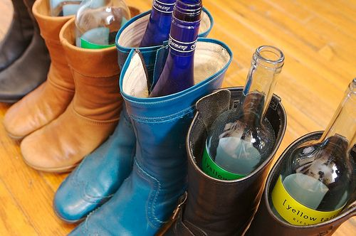 how to store shoes in the closet - Keep boots upright