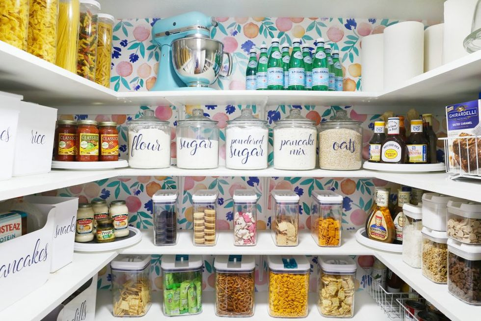 how to organize the pantry -implement an organization system