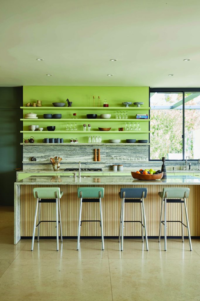 organization ideas for the kitchen - put open shelves on the wall