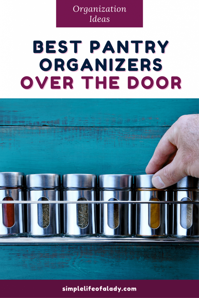 Looking for a pantry organizer that you can just hang over the door? Check out our 10 best product picks from Amazon!